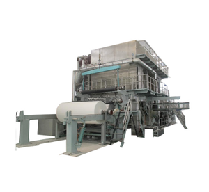Waste paper recycled tissue paper toilet kitchen papermaking machine for best price