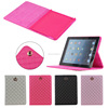 Luxury Crown Leather Case Stand Cover case for iPad 2/3/4