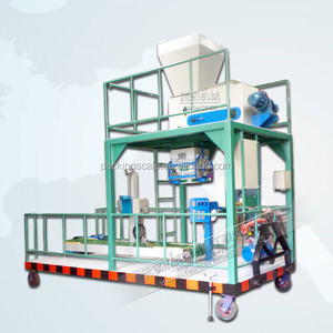 mobile bagging machine system for grain wheat
