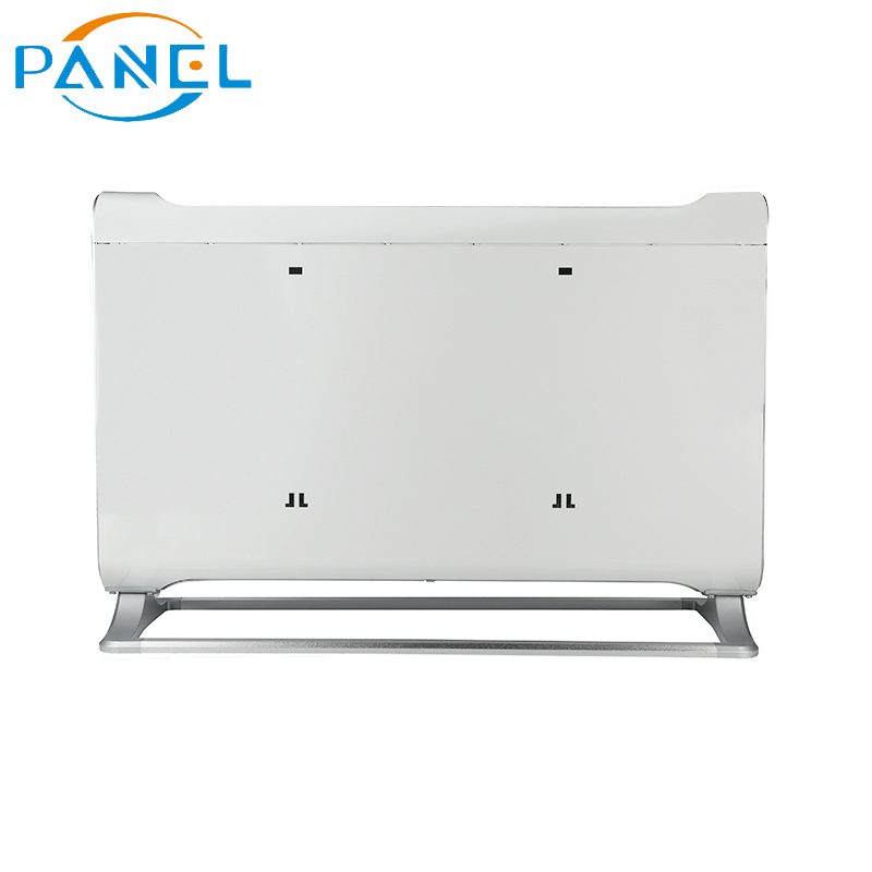 Wifi Control Free Standing LCD Display Glass Panel Heater