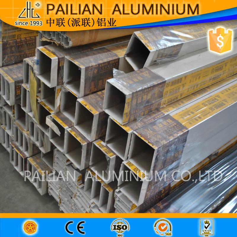 Venta al por mayor precio tubo aluminio rectangular compre - Tubo de aluminio ...