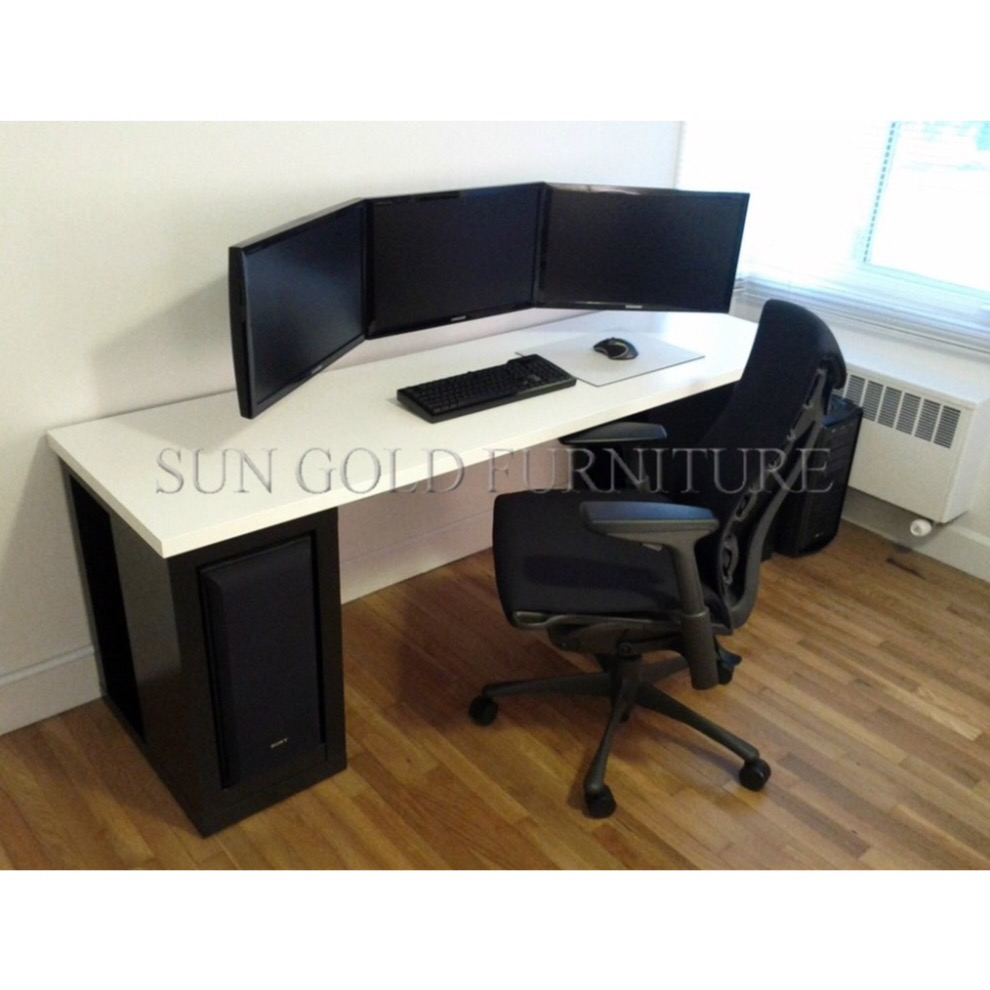 2018 modern design home furniture study cheap gaming desk sz gd001