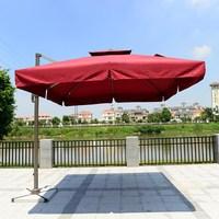 Aluminum frame large waterproof outdoor wholesale umbrella on big sale