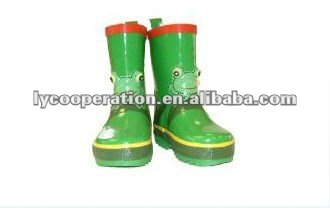 Kidorable Frog Rain Childred/kids Boots