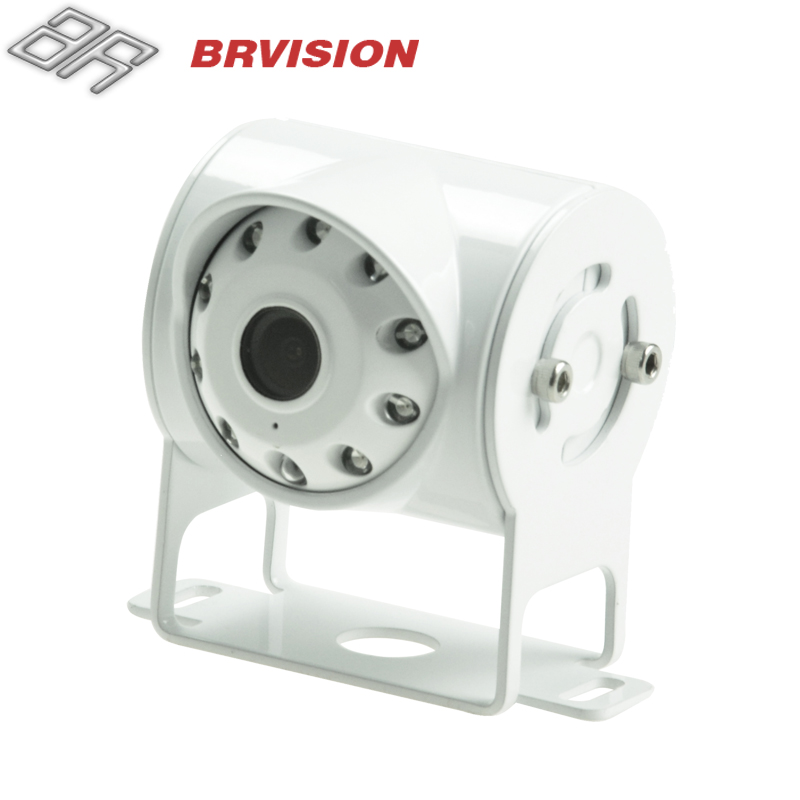 Horizontal view angle 160 degree Rear view camera with IR lamps for Truck