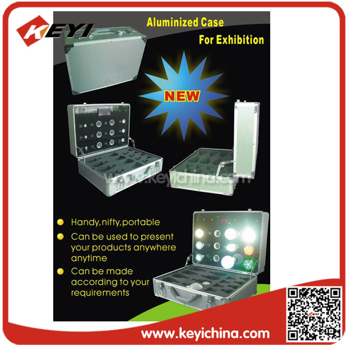Led licht Koffer/doos/display/kast