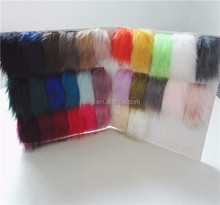 Factory wholesale Fake Faux Fur Pom Poms For Hangbag Beanie Fur Trimming from China suppliers