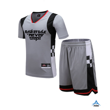 Short sleeve basketball jersey for youth team