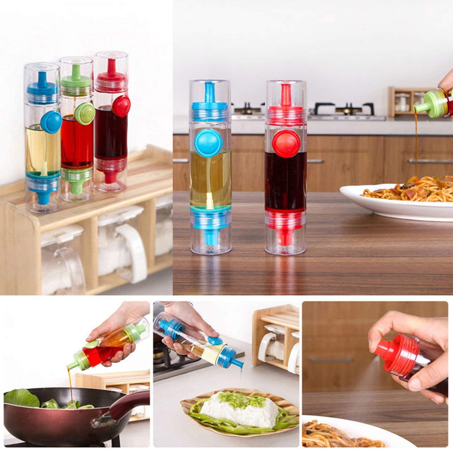 Cooking Olive Oil Sprayer Dispenser Cruet Jar Pot Tool Can Kitchen Pastry Tools Use Oil, Soy Sauce, Wine, Vinegar, Honey.