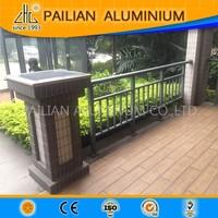 UK beautiful flower outdoor decking aluminum fence design,garden aluminum fence panels for sale,balcony aluminum fence pricing