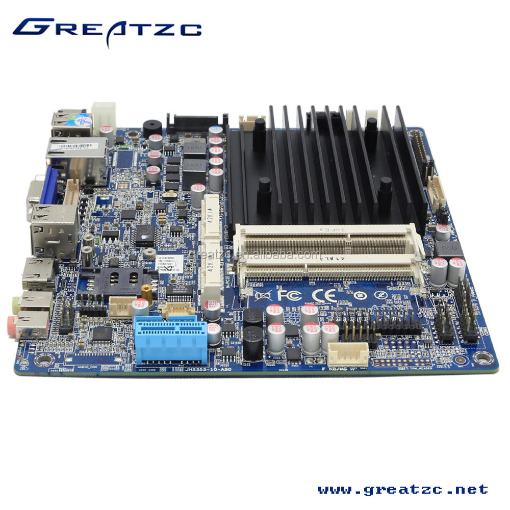 ZC-BT19 FANLESS BAY TRIAL WITH LOW TDP MOTHERBOARD,ONBOARD LVDS MOTHERBOARD WITH HDMI&VGA