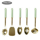 Fashion Stainless steel golden kitchen cooking tools