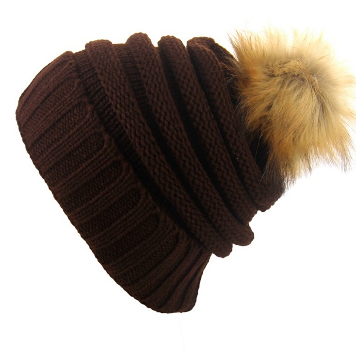 ed625c91425 Wholesale bulk knit hats women different types of knit hats with top balls  LYH003