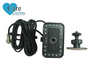 Fatigue detection vibrating gsm car alarm with cameras and gps