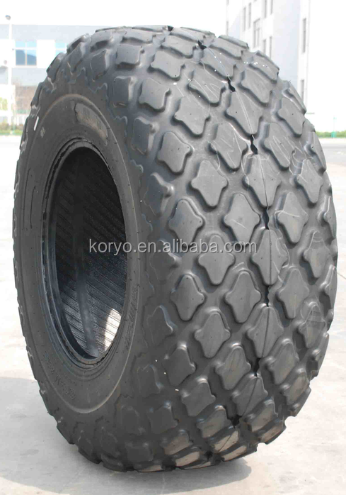 CHINA KORYO brand otr tire forestry tire 18.4-26 agricultural farm tractor tire for sale