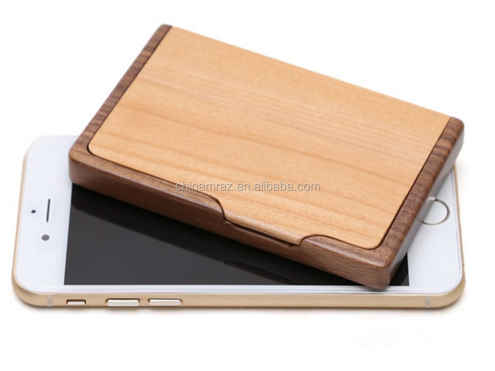 Dongguan wooden business card case promational gift buy for Wooden business card case