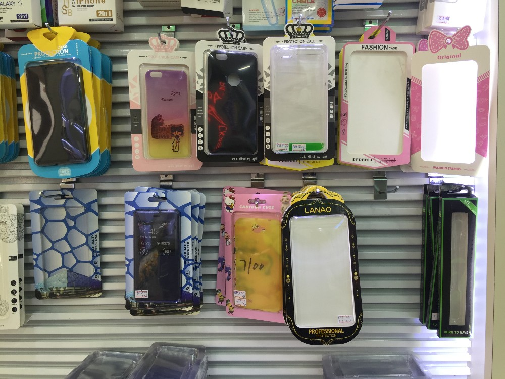 factory price 2016 new mobile phone case retail package for sell