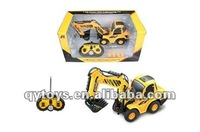 1:20 6 channels mini RC construction car Kids play RC truck set RC drive rally car toys remote control car