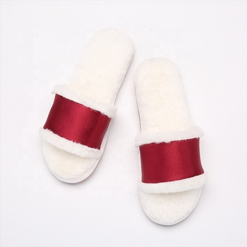 dd366967fdbc 2019 custom fashion warm TPR sole unisex coral fleece indoor slippers