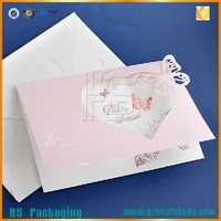 Wholesale wedding invitation card arabic paper for wedding invitation