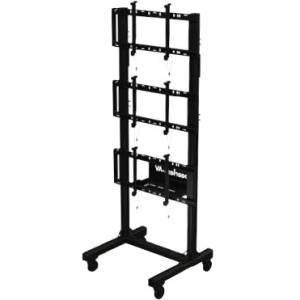 Peerless - DS-C560-1X3 - Peerless-AV SmartMount DS-C560-1X3 Display Stand - Up to 60 Screen Support - 375 lb Load Capacity - 102.5 Height x 40.3 Width x 36.1 Depth - Aluminum - Black