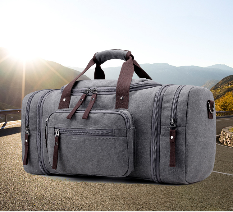 KVKY Brand Travel Bags Men S Large Capacity Handbag Luggage Travel ... a087d8aa16260
