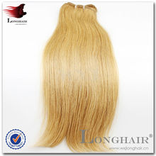 Wholesale Hair Weaving Remy Russian Blonde Hair Extensions