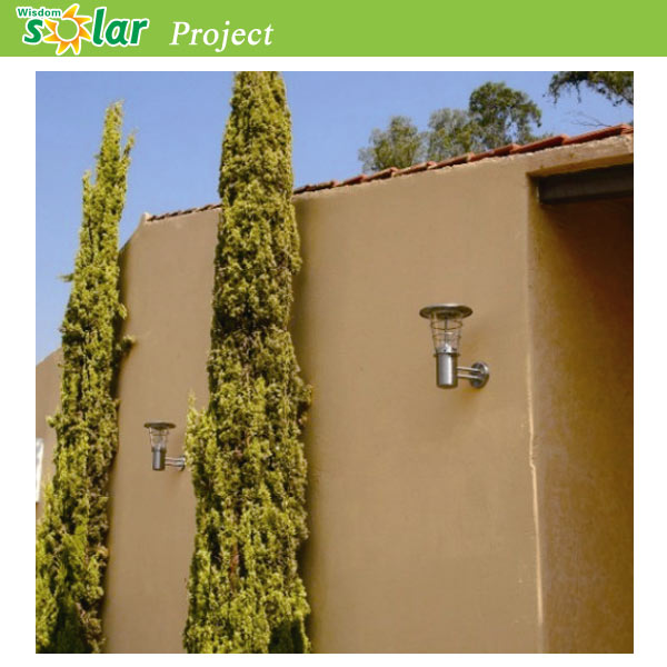 Stainless steel wall lamp outdoor with solar panelhouse lights stainless steel wall lamp outdoor with solar panelhouse lights fixtures wireless led wall lamp mozeypictures Choice Image