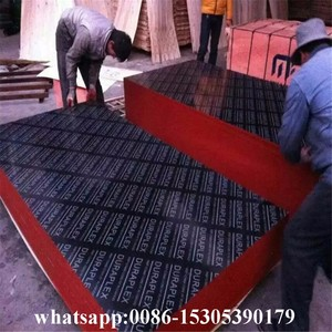 black film faced plywood for dubai market/shutter ply from linyi factory