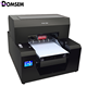 DOMSEM Automatic A3 Digital Multifunctional UV printer for Water bottle, tube, phone case, leather, wood, glass, 3D emboss