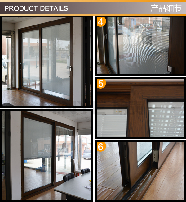 patio glass sliding door price double glazed sliding door /exterior big glass aluminum sliding doors price/balcony sliding glass