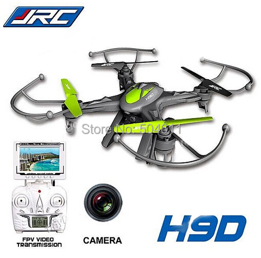 Free Shipping 2015 New Version JJRC H9D 2.4G 4ch 6 Axis 360 Flips RC Quadcopter