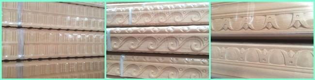 Decorative Wood Crown Molding