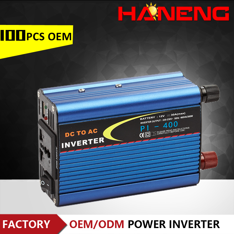 Haneng factory sell DC AC power inverter 400W with OEM MOQ 100PCS Only