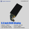 oled display 5.5inch 1080*1920 on-cell capacitive touch panel