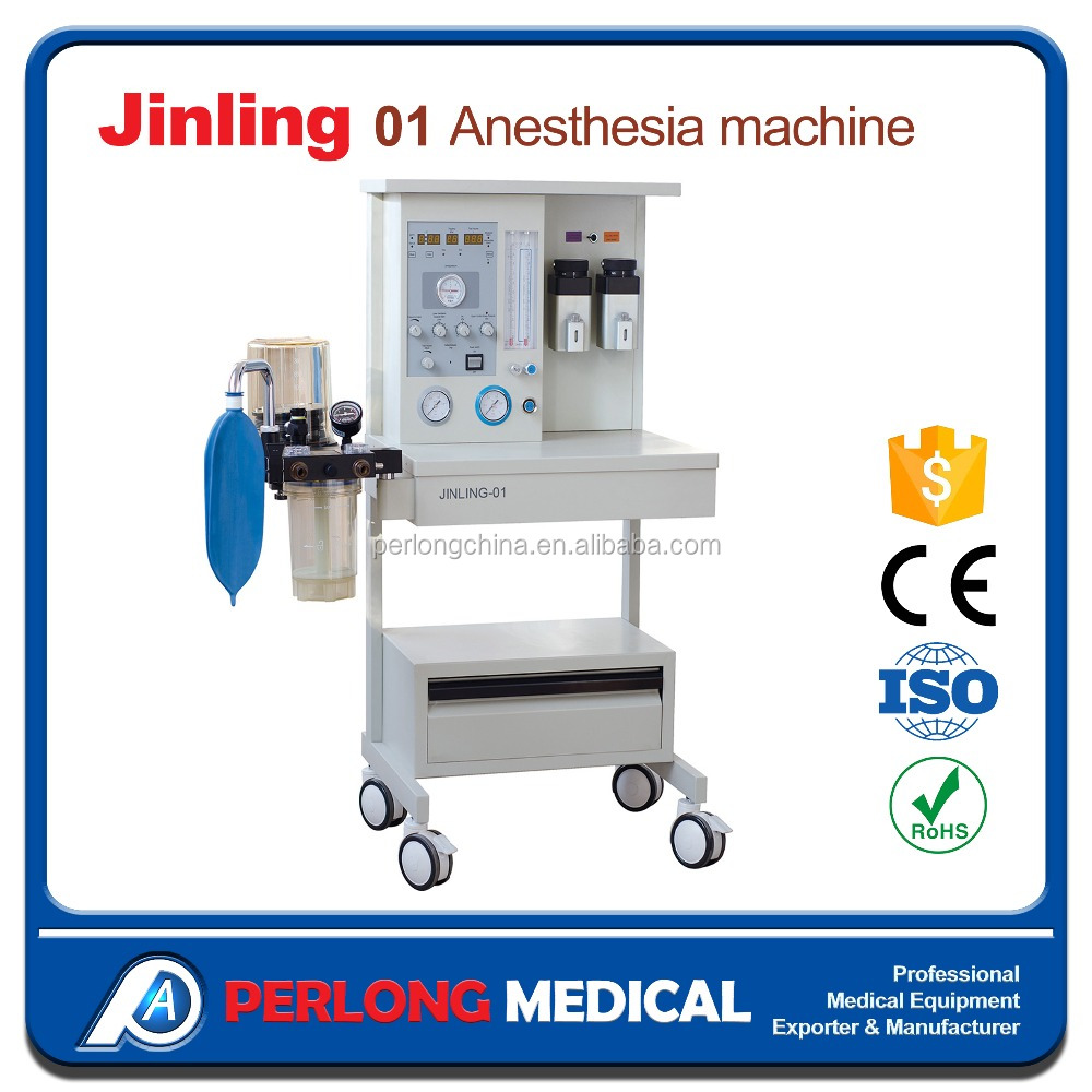 JINLING-01 Advanced two vaporizer maquina de anestesia with ventilator prices