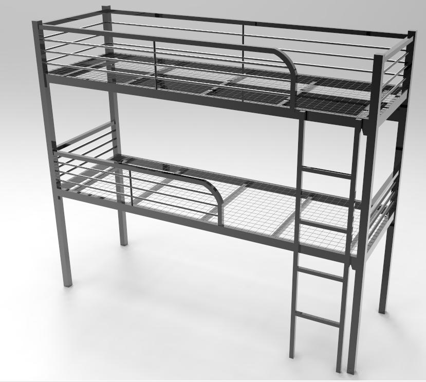 Wholesale kids double deck bed design furniture cheap bunk for Cheap double deck bed