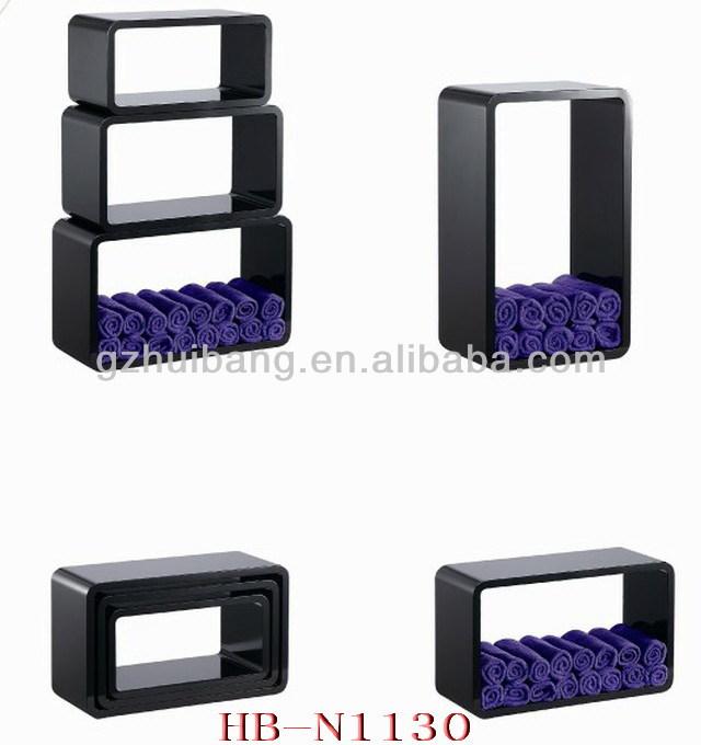 Hair Salon Equipment Wood Towel Cabinet Hb N1130