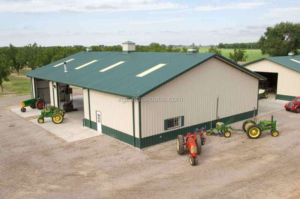 Morden Prefabricated Steel Commercial Green House For Sale