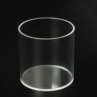 Fish Tank Big Tube Glass Large Diameter Acrylic Tube for Aquarium