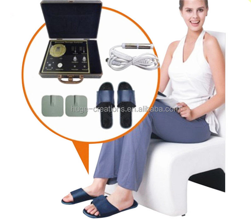 therapy fucntion quantum analzyer with messager slipper and TENS 38 reports bio resonance magnetic full body health scanner Q4