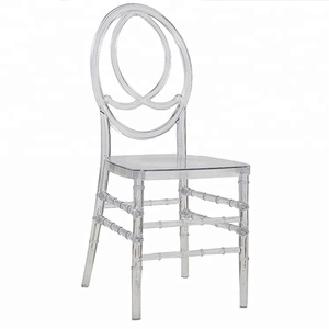 Clear Acrylic Phoenix Transparent Wedding Chiavari Chair