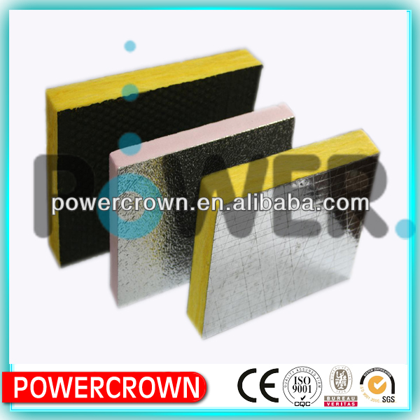 excellent CE foil faced glass wool board in lowest price from good faith supplier