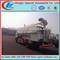 CLW animal food transport vehicle,feed truck for poultry farm,used feed trucks