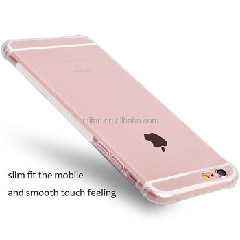 DFIFAN Super Slim Cool Design Mobile Cover for Apple Iphone6, Clear TPU Case for iphone 6 6s