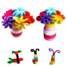 Colored craft cotton wire pipe cleaners assorted colors