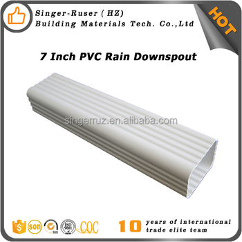 Pvc Square Rain Gutter To Malaysia Thailand Indonesia