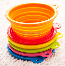 2017 HOT SELL silicone pet water bowl