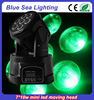 10w*7pcs rgbw mini led moving head light show light stage light