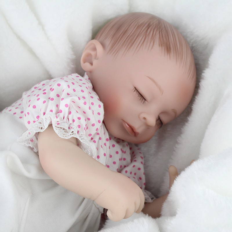 16 pulgadas reborn beb mu eca suave silicio dormir dibujo for Recien nacido dibujo